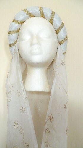 Médiéval Mariage Coiffure Renaissance Coiffe Pagan Cercle Custom Made