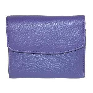 New-Buxton-Women-039-s-Leather-Mini-Tri-Fold-Wallet