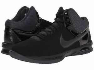 3498831474cc Nike Air Visi Pro VI Nubuck NBK Men s Basketball Shoes Sz 13 Black ...
