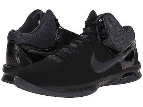 bfaee6b31155 Men s Nike Air Visi Pro VI 6 Nubuck Basketball Shoes 749168-003 Sz 14 Black  for sale online
