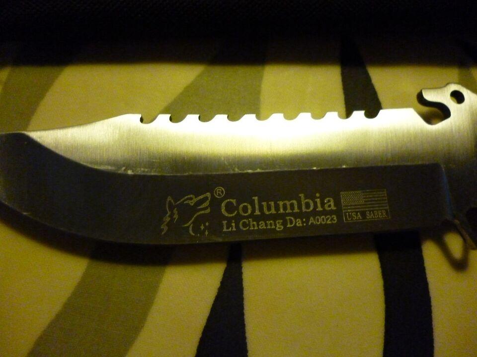 Jagtkniv, Columbia