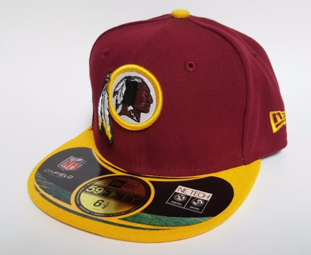 brand new 54cf2 4a3e1 YOUTH New Era 59FIFTY WASHINGTON REDSKINS KIDS BCA Hat ( 27) ON FIELD Cap  BREAST