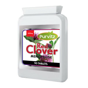 Red-Clover-Tablets-Menopause-Hormone-Balance-Hot-Flushes-HRT-Pills-3month-supply