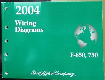 2004 Ford Dealer Electrical Wiring Diagram Service Manual ...