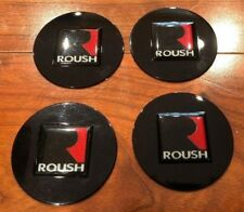 Roush Ford Mustang Stage 1 2 3 427r Trac Drag Pak F150 Challenger Wheel Caps Set