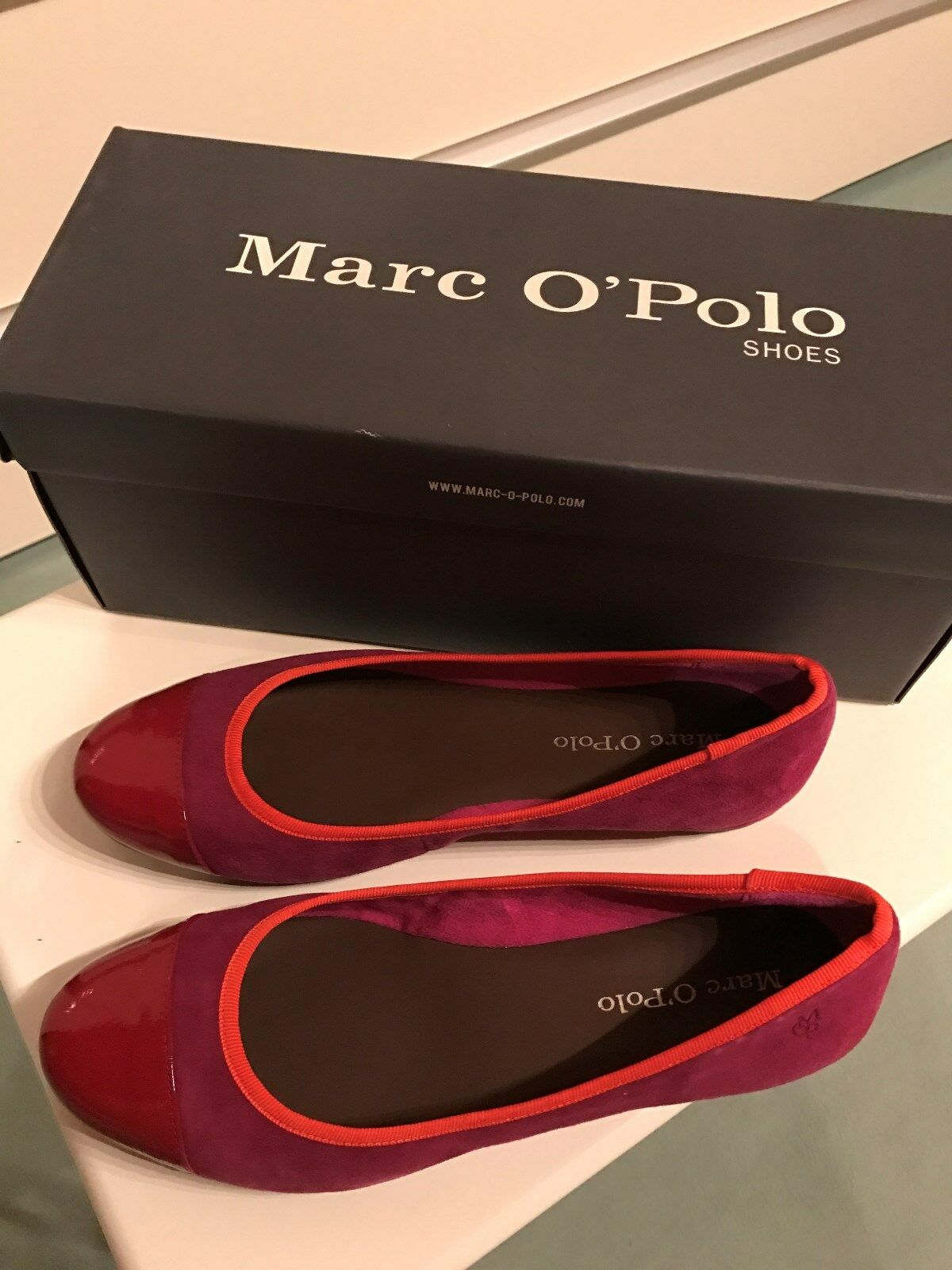 Damen Größe Schuhe Ballerina, Marco Polo, Neu, Leder, Größe Damen 5,5 b894db