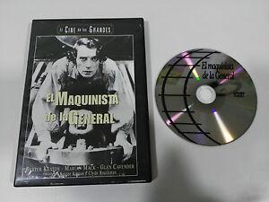 Il Macchinista de La Generale - DVD Buster Keaton Spagnolo English All Regions