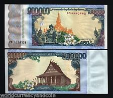 LAOS LAO 100000 100,000 2010 KIP *COMMEMORATIVE* 450 Anny WORLD CURRENCY MONEY