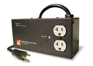 Image Is Loading Brickwall Pw2rv 2 Outlet Surge Protector
