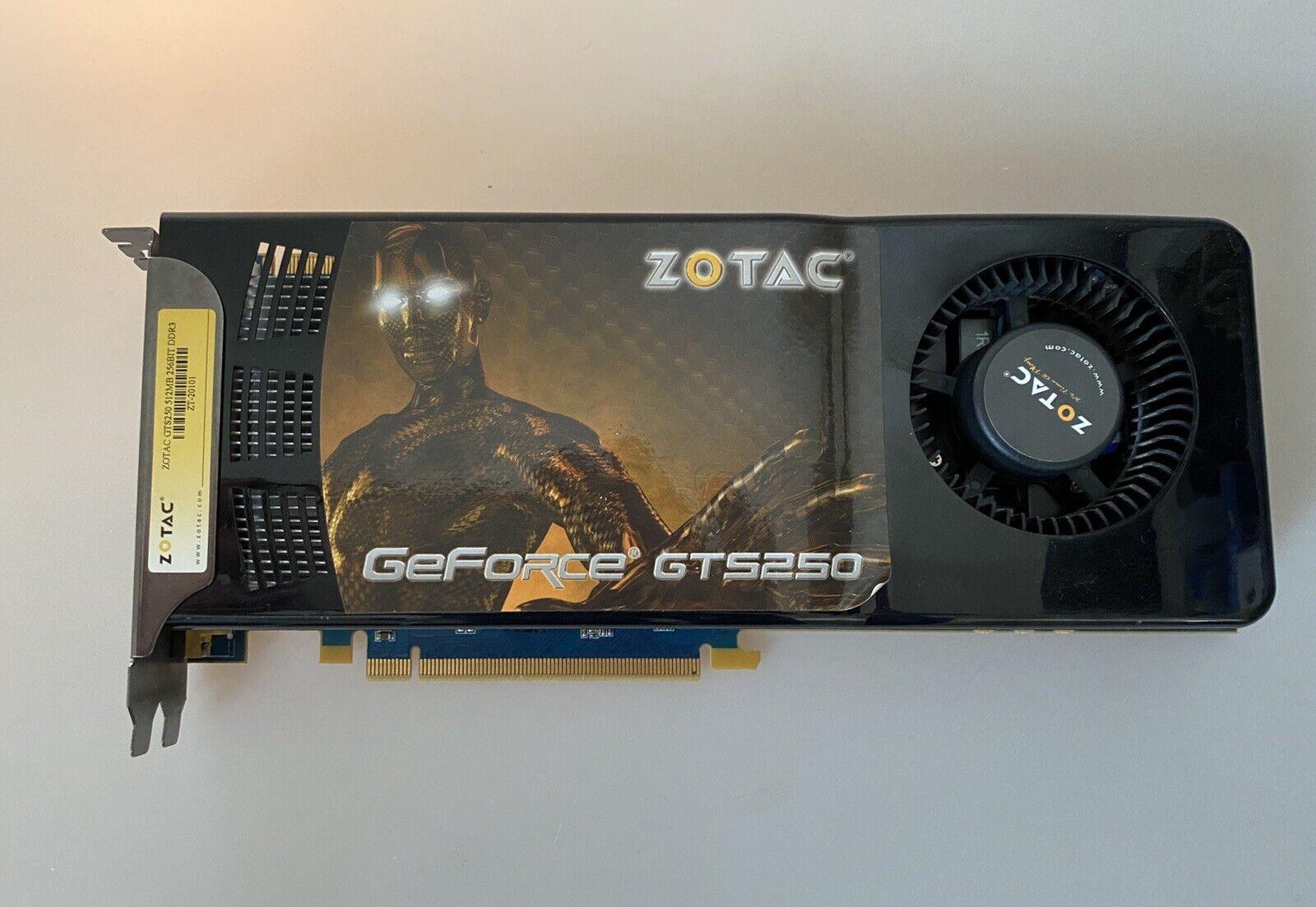 ZOTAC Video Card GeForce GTS 250