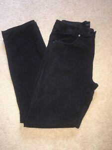 Genuine-MENS-Versace-Black-Cotton-Trousers-Waist-34