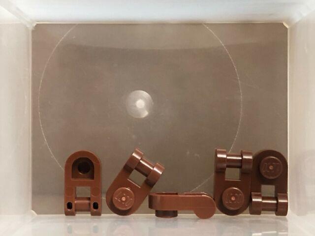 LEGO Parts - Reddish Brown Plate 1 x 1 w Handle - No 26047 ...