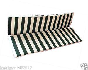 Ricambio cuscino per dondolo 3 posti 135x52 cm telo per for Telo copri dondolo 3 posti
