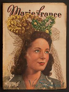 039-MARIE-FRANCE-039-FRENCH-VINTAGE-MAGAZINE-22-NOVEMBER-1945