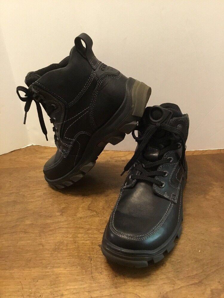 Ecco botas para Hombre Cuero Negro Tamaño 40 US  7 Gore-Tex Suela De Látex agradable  salida para la venta