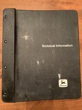 John Deere 350c 355d Crawler Bulldozer Technical Service Manual Tm1115 1986
