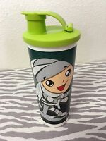 Tupperware Tumbler W/ Flip Top Lid Mummy 16oz