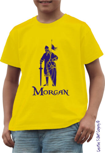 PERSONALISED KNIGHT IN ARMOUR T-SHIRT Ages 1-13 NORMAN CASTLE KINGS /& THRONES