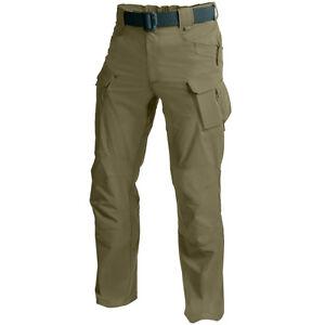 Helikon-Outdoor-Tactico-Hombres-Pantalones-Excursionismo-Carga-Adaptado-Verde