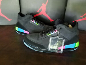 7a2b3c52bc3ee5 DS Air Jordan 3 Retro SE Q54 Quai 54 - AT9195-001 - Size 8 ...