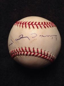 e27f1d50216 Details about JOHNNY DAMON Signed Major League Baseball Single AUTO  Autographed YANKEES BALL