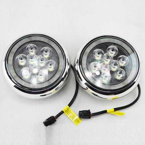 MINI Cooper F55 F56 F57 Cooper S Front Bumper Rally Fog Light Set L/&R W//Bracket