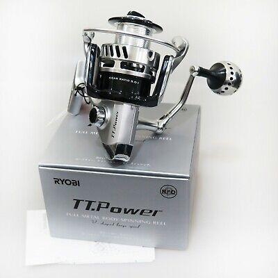 RYOBI TT.Power 8000 Full Metal Body Spinning Reel Fedex shipping 2days to Usa