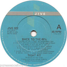 """TIGHT FIT - Back To The 60's (UK 2 Trk 1981 7"""" Single)"""