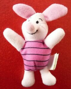 Plush-Toy-Winnie-the-Pooh-039-s-Piglet-McDonald-039-s-Walt-Disney-Classics-4-039-039