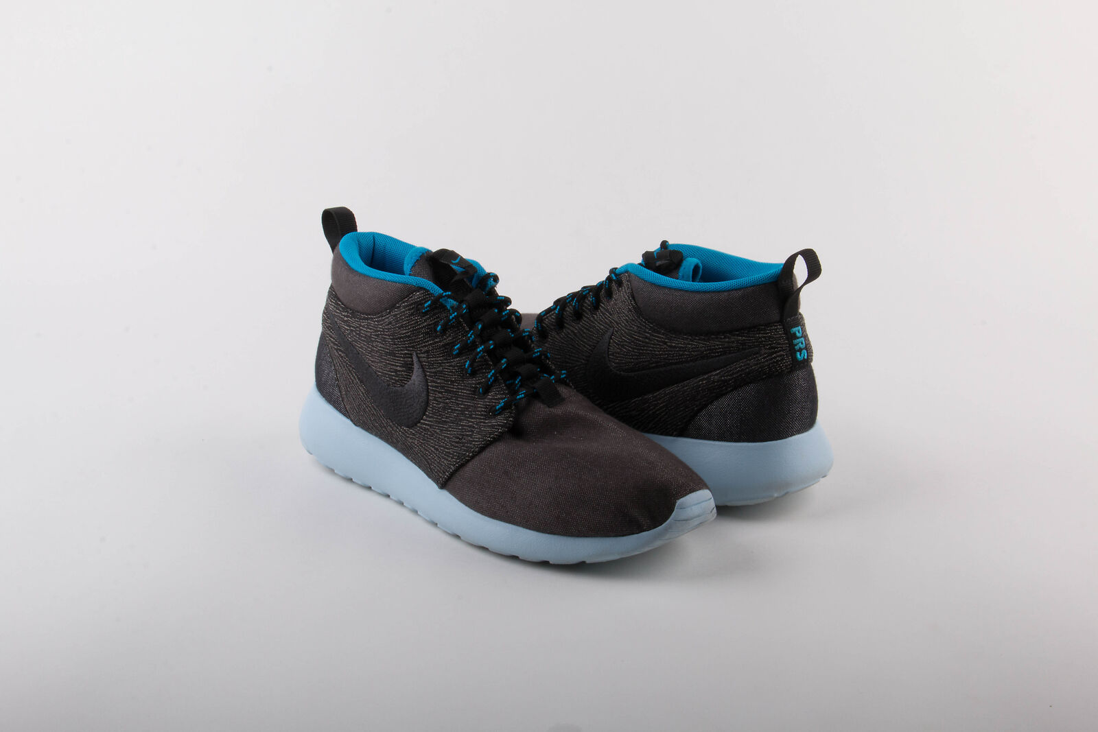 Nike Mens Rosherun Mid QS Anthracite/Blue 585898-001 Comfortable best-selling model of the brand