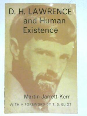 D. H. Lawrence And Human Existence (martin Jarrett-kerr - 1961) (id:16358)