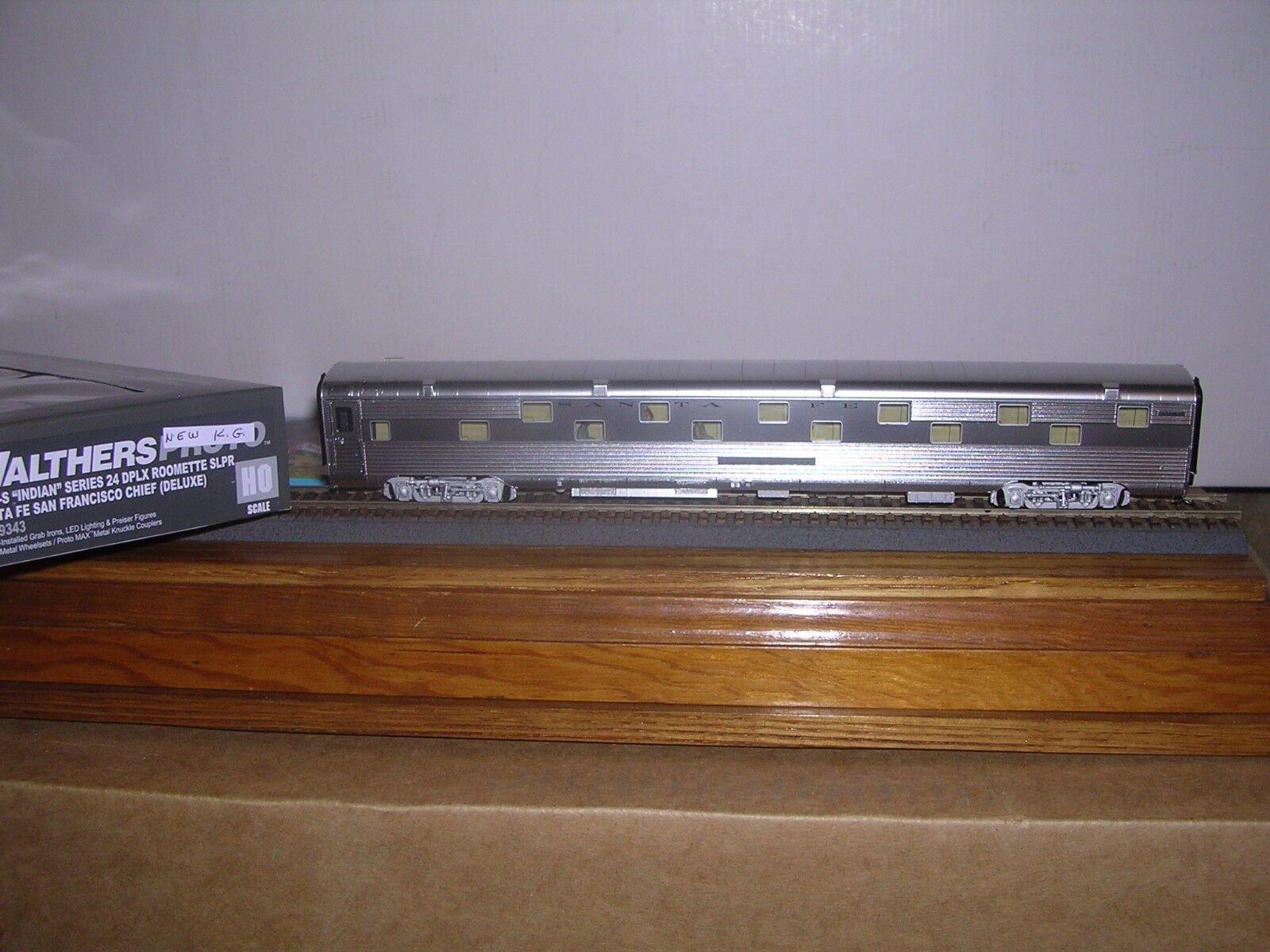 Walthers Projoo  920-9343 Santa Fe P.S. optimizada 85' dúplex durmiente del 1 87