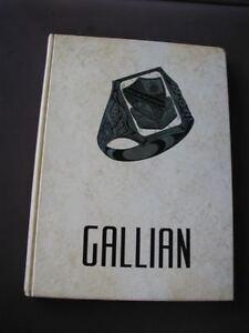 1961 Yearbook Gallia Academy High School In Gallipolis Ohio Ebay