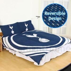 Tottenham-hotspur-fc-Impulsion-Set-Housse-de-Couette-Double-Reversible-Enfants