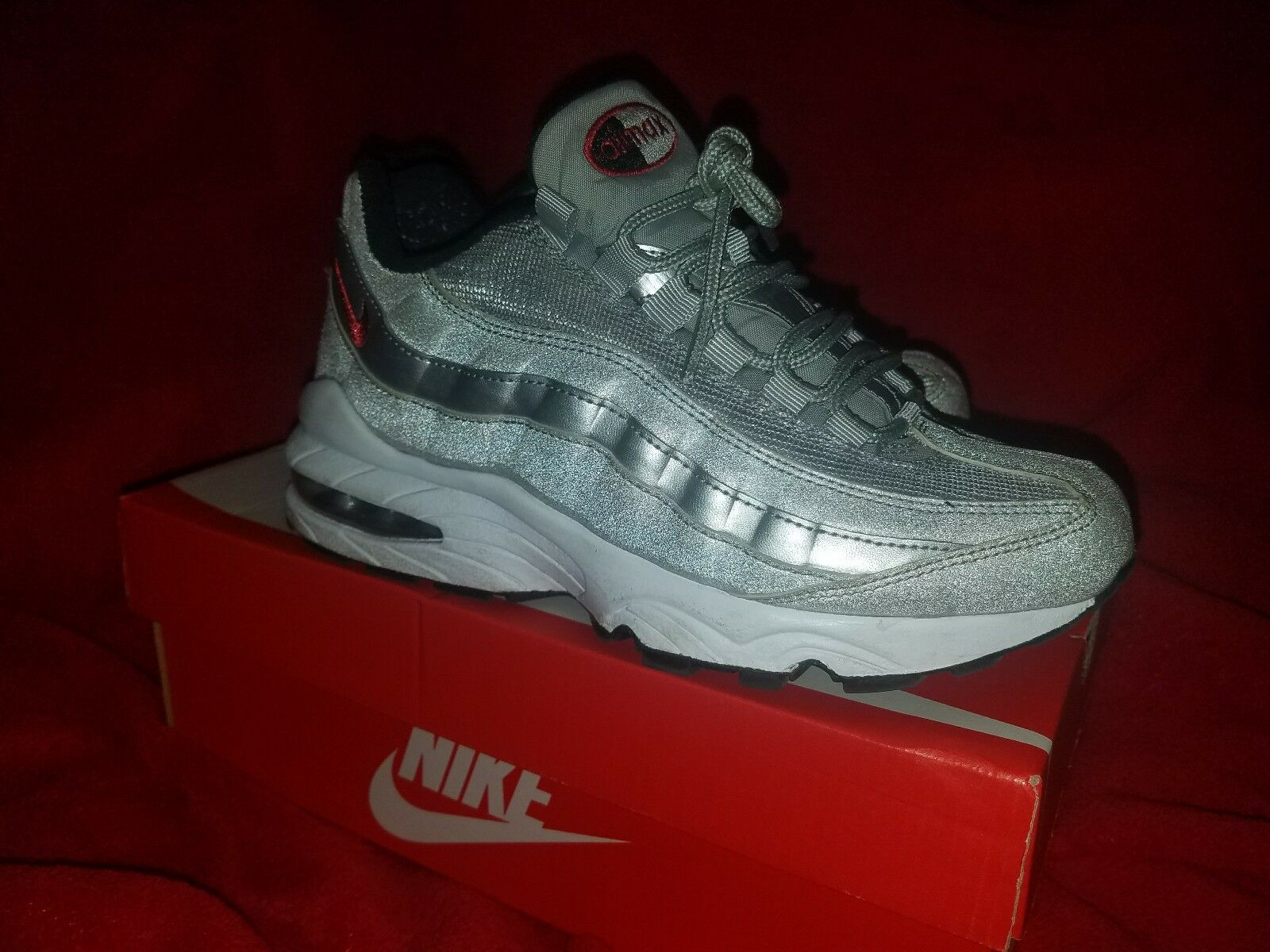 silver air max 95 wild taille 4 wild 95 souliers bd17e4