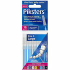 Piksters Interdental Toothbrush Tooth Brush 10 All Sizes Colours 5 Blue