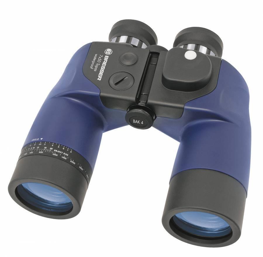 1866932 bresser topacio 7x50 WP brújula prismáticos