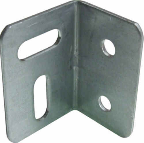 NEW pk of 10 Galvanised Steel Angle Brackets 25mm x 27mm x 38mm   D011
