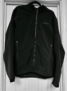 Patagonia-Polartek-Soft-Shell-Black-Full-Zip-Jacket-Mens-Size-Large-L-Logo