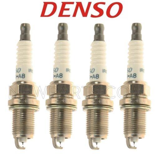 4 PC Denso Iridium Spark Plug Set for Toyota Prius C 2012-2013-2014 #FK16R-A8