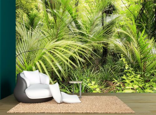 Tropical Forest Trees Jungle Plants Wall Mural Photo Wallpaper GIANT WALL DECOR