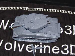 Flames Of War USA 1/100 M4A3E2 Jumbo Sherman Tank 15mm FREE SHIPPING