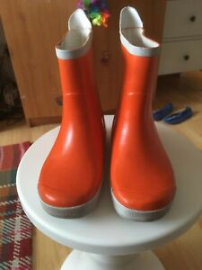 Tretorn Wellies Kid's Boots Unisex Orange - Size EU 32
