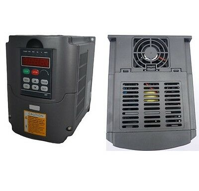 NEW 110V VARIABLE FREQUENCY DRIVE INVERTER VFD 1.5KW