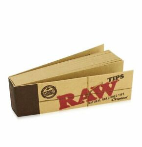 500-Raw-Rolling-Papers-Filter-Tips-10-Booklets-Of-50-Standard-Size-Vegan-Rizla