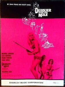 ELKE-SUMMER-Sheet-Music-DEADLIER-THAN-THE-MALE-1966-Piano-Vocal