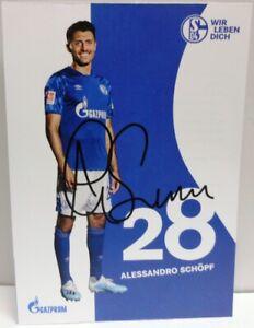 Alessandro-Schoepf-Autogrammkarte-2019-2020-FC-Schalke-04-AK2019123