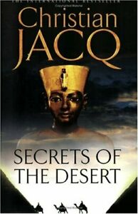 Secrets-of-the-Desert-Judge-of-Egypt-by-Jacq-Christian-Paperback-Used-Book