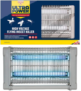 Zero In Ultra Power High Voltage Flying Insect Killer Electric Bug Zapper, Mains