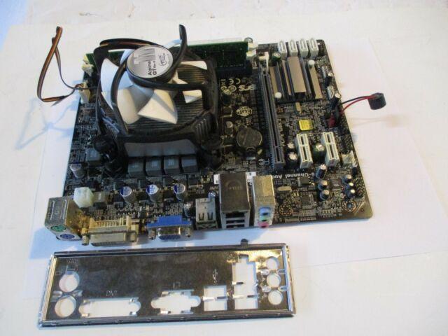 ECS H61H2-M2 V:1 0 pc3 motherboard w/ I3-2100 SR05C CPU PROCESSOR & HEATSINK